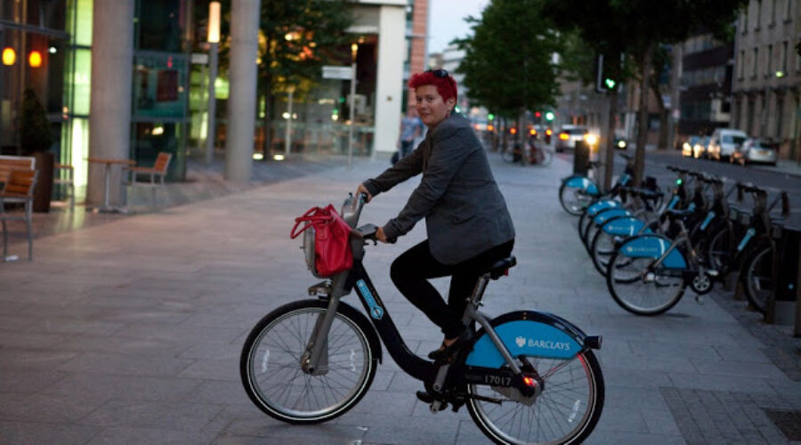 Barclays Cycle Hire Scheme: A Chic 1st time user!
