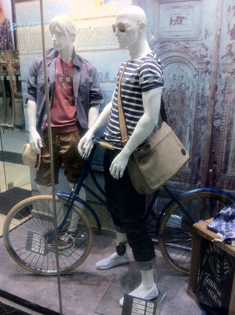 Windows into Bike Fashion…