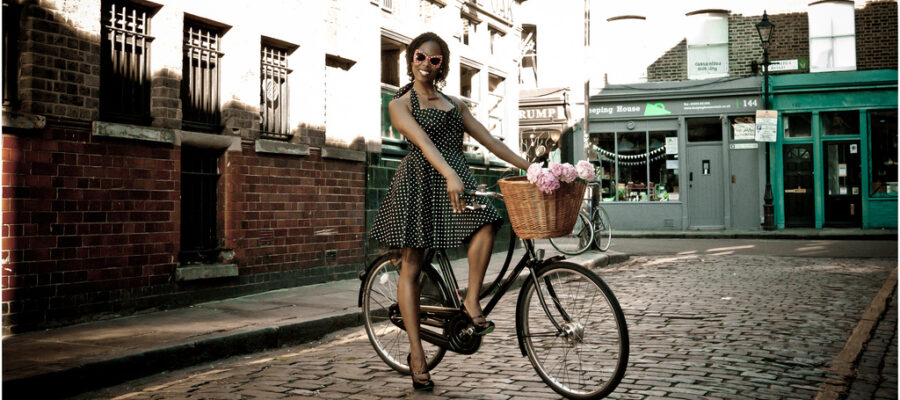 Time For Some Cycle-Chic at the LOOK Magazine Show AW11…