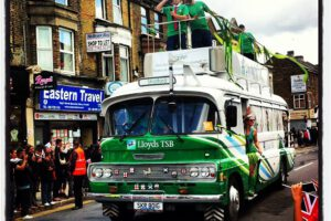 A Flame in Newham…