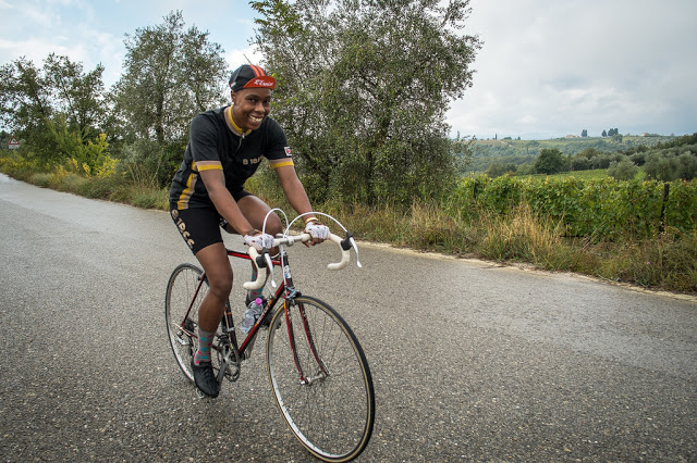 Girl in Gaiole – L'Eroica 2015