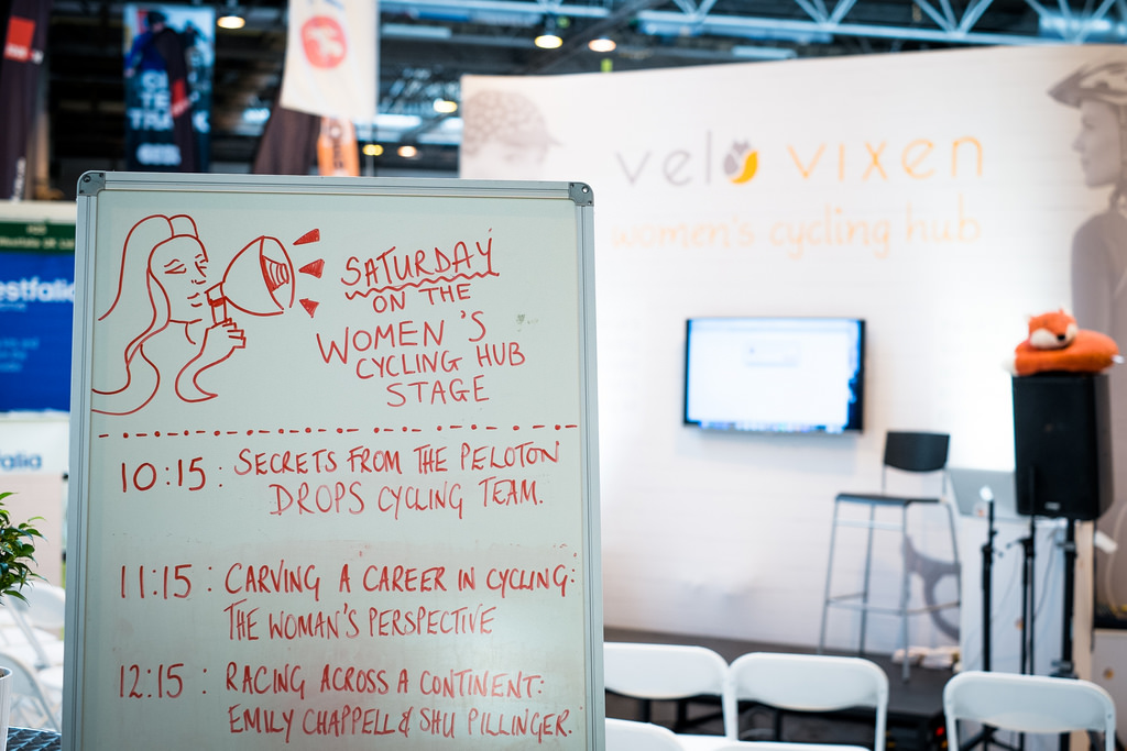 VeloVixen Women's Cycling Hub