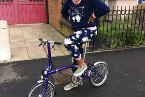 Big love on a little Brompton