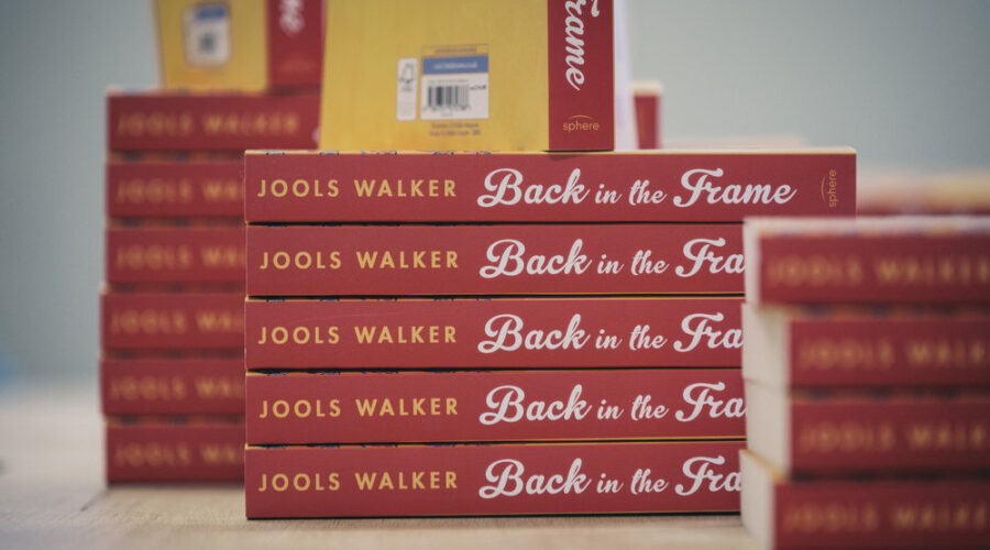 copies of book back in the frame by jools walker